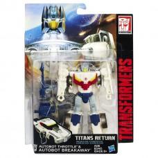 "Трансформер Тротл и Брейкавей ""Возвращение Титанов"" - Throttle & Breakaway, Titans Return, Deluxe, Hasbro"