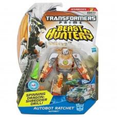 Игровой Автобот Трансформер для мальчиков Рэтчет, Охотники на Чудовищ, Делюкс 15 см - Ratchet, Deluxe, Hasbro